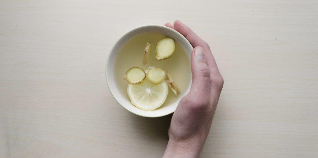 ginger gember thee tea gezonde gewoontes