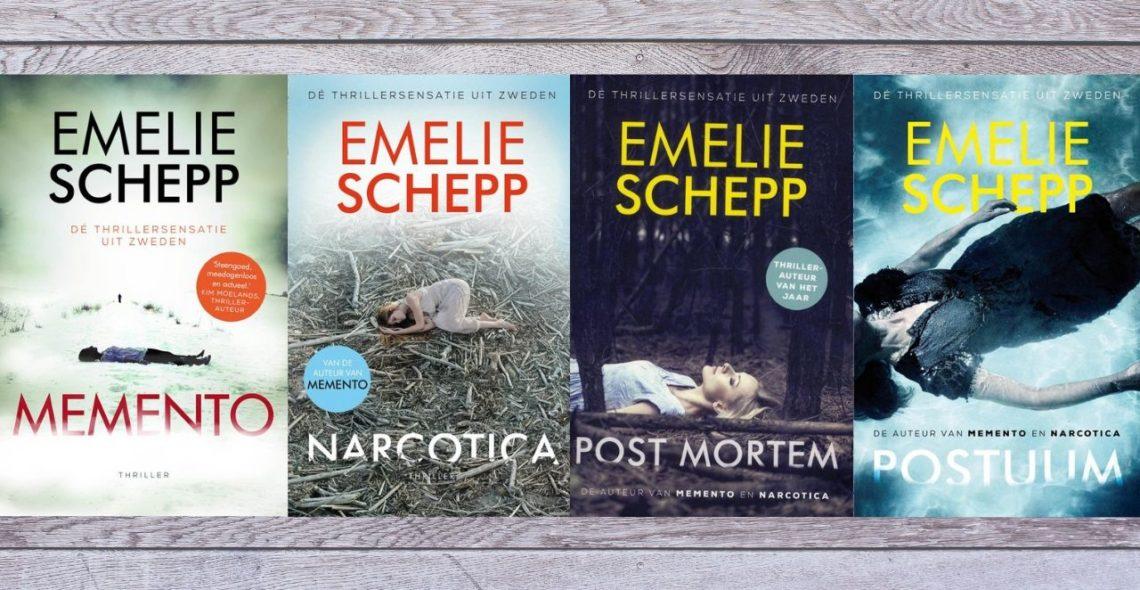 Lin Leest - Jana Berzelius serie Emelie Schepp