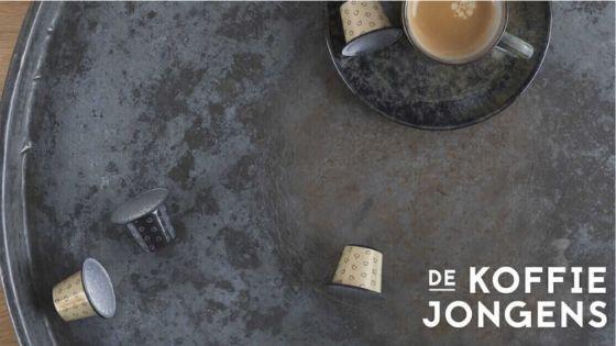 De Koffiejongens abonnement koffiecups