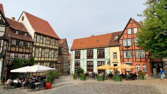 Vakwerkhuizen in Quedlinburg