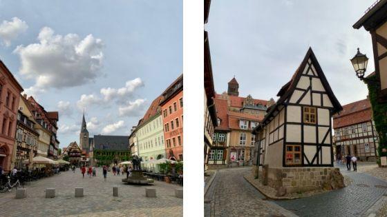 De Markt in Quedlinburg