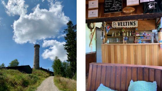 Gaststätte Großer Knollen en de Knollenturm