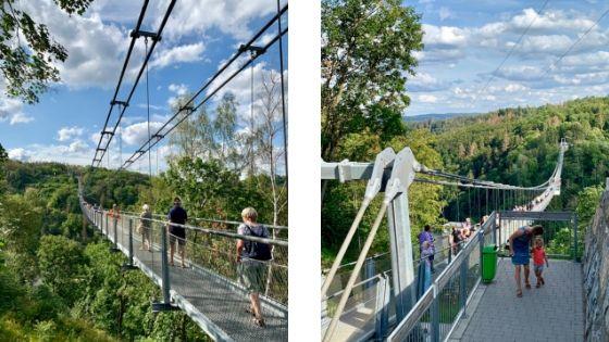 Langste hangbrug van Duitsland, Rappbodetalsperre, Hasselfelde